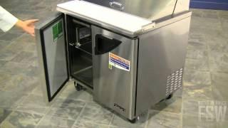 Turbo Air Prep Table Video (tst-36sd)