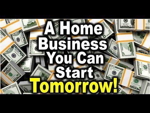 Home Business Starts Tomorrow!
