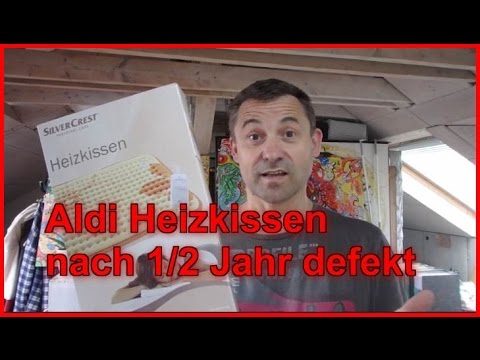 aldi lidl heizdecke silvercrest defekt youtube. Black Bedroom Furniture Sets. Home Design Ideas