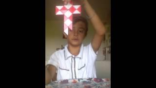Come fare la spada, la croce con serpentone di Rubik