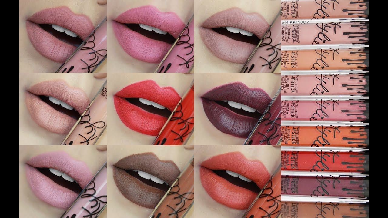 Nyx lipstick matte colors