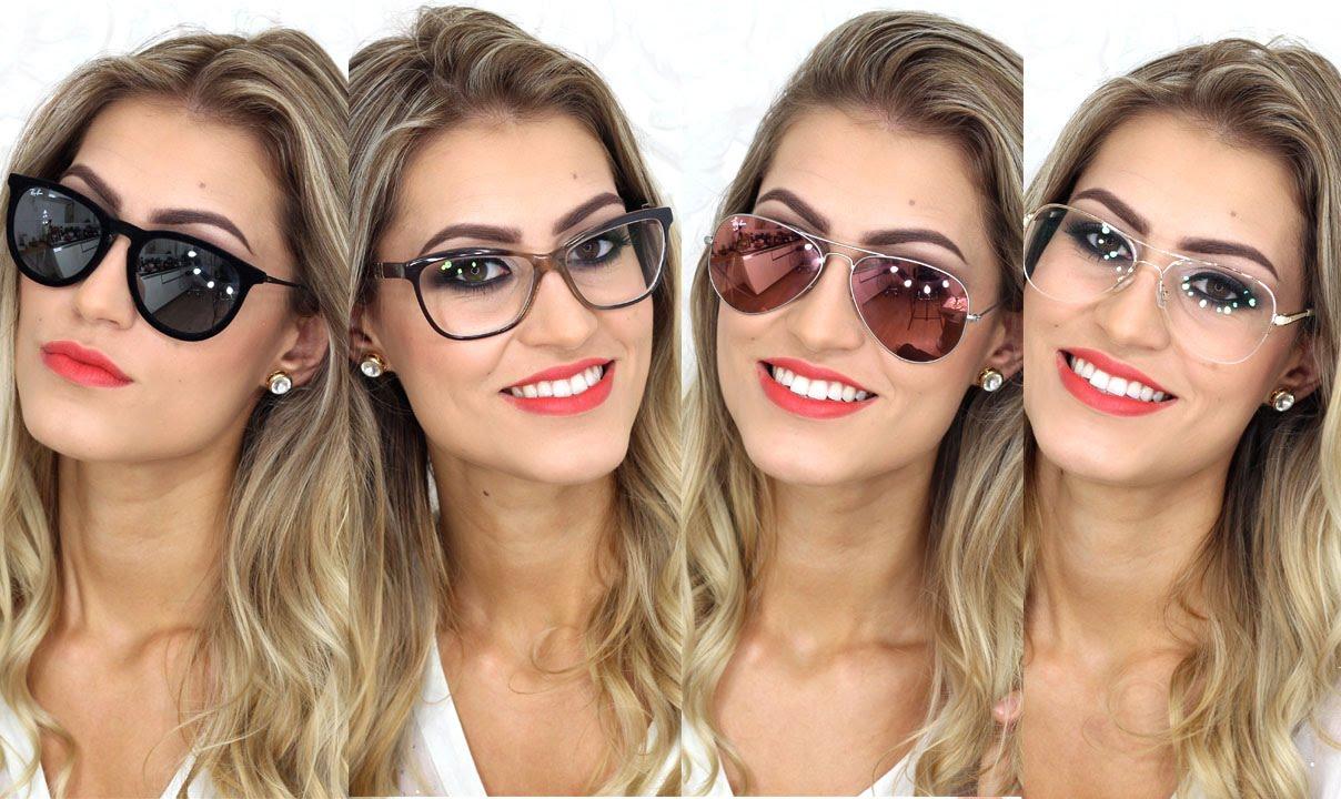 92305800f85bd Meu óculos de grau + minha coleção de óculos - Por Bárbara Thais - YouTube