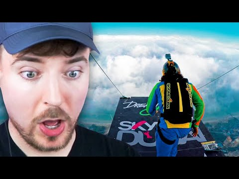 Jumping from 128,000 Feet! - Beast Reacts