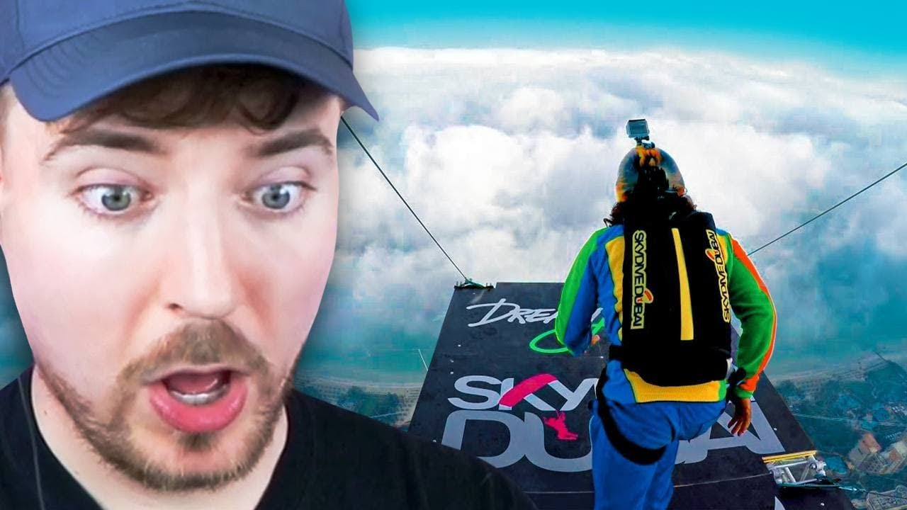 Jumping from 128,000 Feet!