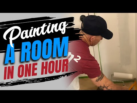 Tips Painting A Room In 1 Hour Diy How To Paint Walls Fast You