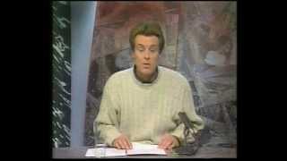 BRTN TV1 - Sport op Zaterdag, met Frank Raes (met blooper) & aankondiging door Lut Leysen (1993)