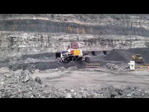 High wall mining SEB