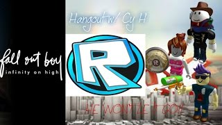 "HE WON'T LET IT GO!! | Roblox crew playing ""Hangout w/ Cy H"""