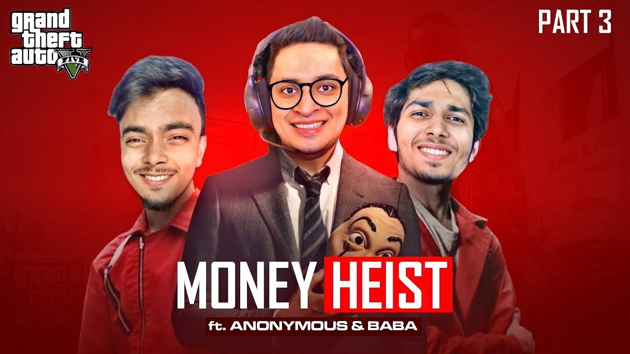 Download $7,500,000 Money Heist Bank Robbery Ft. Star Anonymous & Baba OP - GTA 5 Gameplay - MrJayPlays