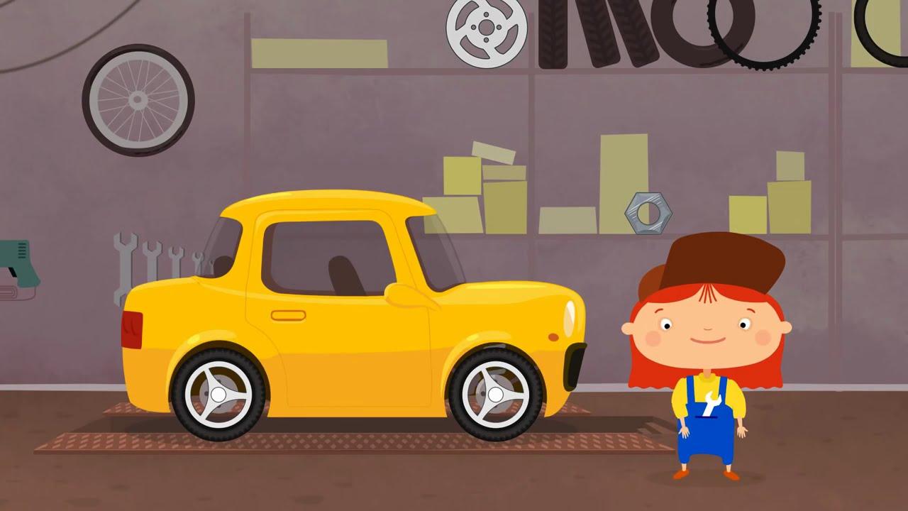 Preferência Carros para niños - Doctora Mac Wheelie - Caricaturas de coches  SC79
