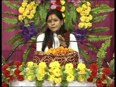 pujya Sadhvi Saraswati ji Shri Madbhagwat katha in kirnapur 2014 ( Part1- 2 ) HD