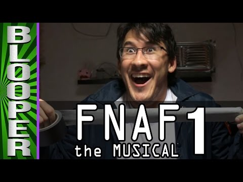 BLOOPERS from FNAF the Musical: Night 1 Feat Markiplier