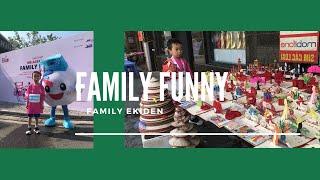 Baby Run Relay Program Family Ekiden Hoan Kiem Lake ❤ Family Fun ❤ Wheels On The Bus   HT BabyTV ✔︎