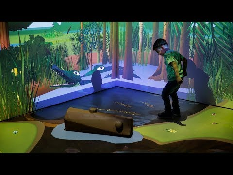 River of Grass: Virtual Reality Interactive Everglades Tunnel Exhibit