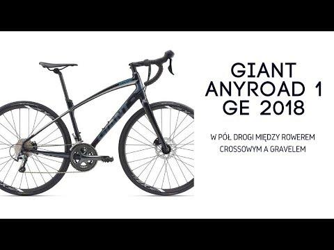 Giant Anyroad 1 GE 2018 - między rowerem crossowym a gravelem