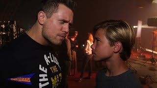 Quiet on the set! The Miz filmed a commercial for Mattel's new Soun...