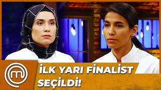 MASTERCHEF TÜRKİYE'NİN İLK YARI FİNALİSTİ BELLİ OLDU! | MasterChef Türkiye 75.Bölüm
