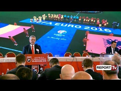 Report TV - Armand Duka thirrje votuesve: Jepni mesazhin që futbolli të jetë i pavarur nga poltika