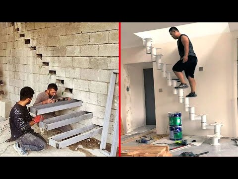 Ingenious Construction Workers That Work Extremely Well, I Can't Stop Watching It ! #2