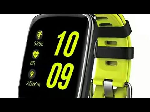 Test Montre Connectee Etanche Makibes Kingwear Gv68 Youtube