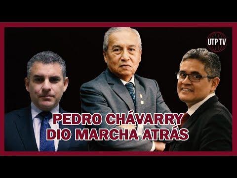 Pedro Chávarry dio un paso atrás