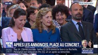 Après les annonces d'Emmanuel Macron, le gouvernement s'organise