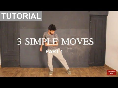 How to Dance | Basic Dance Steps for beginners | 3 Simple Moves | Part 1