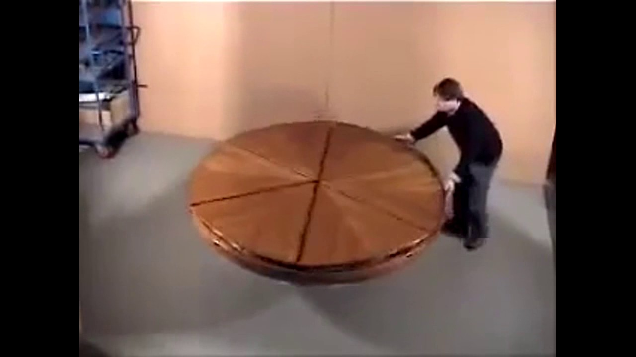 Magic Table New Technology Expandable Round Dining