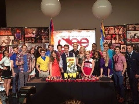 GLEE Behind Scenes of Episode 100