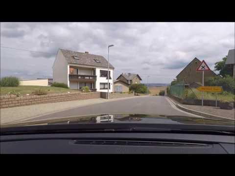 drive from Bonn to Eltz castle, Germany