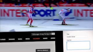 Volkswagen 2015 Nordic World Ski Championships - Campaign Brick Digital Outdoor Media