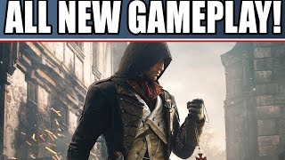 assassin s creed unity new gameplay walkthrough of singleplayer coop murder mysteries