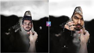 Vijay mahar glass on face creative Photo editing II Vijay mahar glass face rain Photo editing