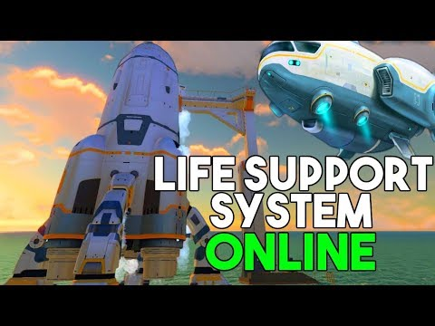 Subnautica - The GRAND FINALE of Subnautica! Major ROCKET Updates & Final Sunbeam ENDING - Gameplay