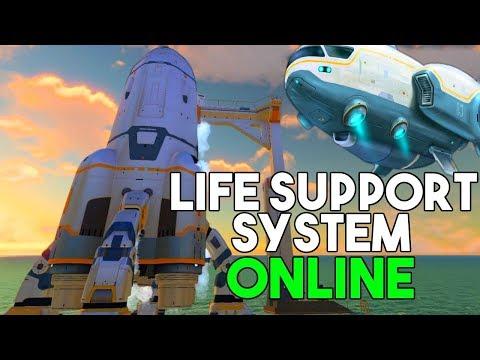 Subnautica - The GRAND FINALE of Subnautica! Major ROCKET Updates & Final Sunbeam ENDING - Gameplay