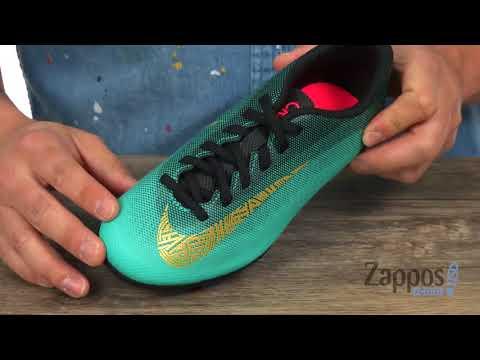5409719416fd Nike Kids Mercurial Vapor 12 Club CR7 MG Soccer (Little Kid/Big Kid) SKU:  9021827 - YouTube