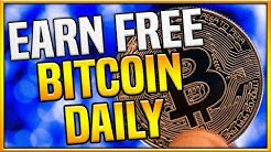 The BEST Way To Earn FREE BITCOINS Daily! (Easiest Method 2019)
