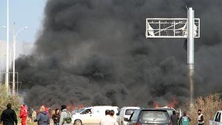أخبار عربية - إرتفاع عدد قتلى الهجوم على حافلات قرب #حلب إلى 126 على الأقل
