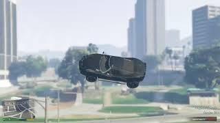 Cool accidental stunt GTA5