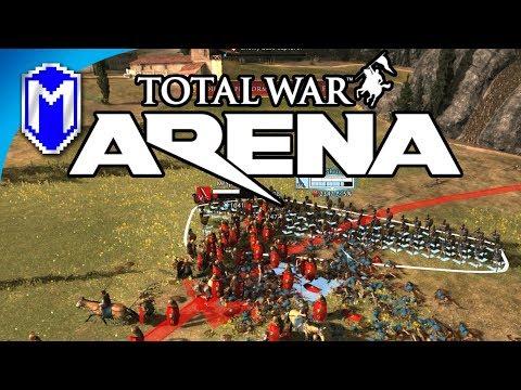 Premium Hoplite Troops, Telesillas Argives - Let's Play Total War Arena Beta Gameplay Ep 7