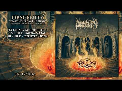 OBSCENITY - Feasting From The Dead Mp3