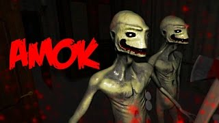 AMOK - MORE LIKE A-MESS, Full Playthrough - Bad Indie Horror Game