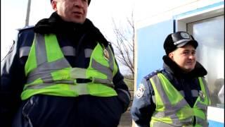 Пост №7 Константиновка - Донецк. Позитивный инспектор!!!