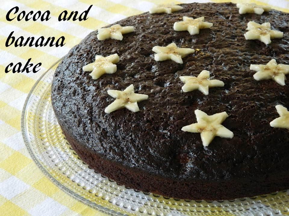 Cake Banane Cacao