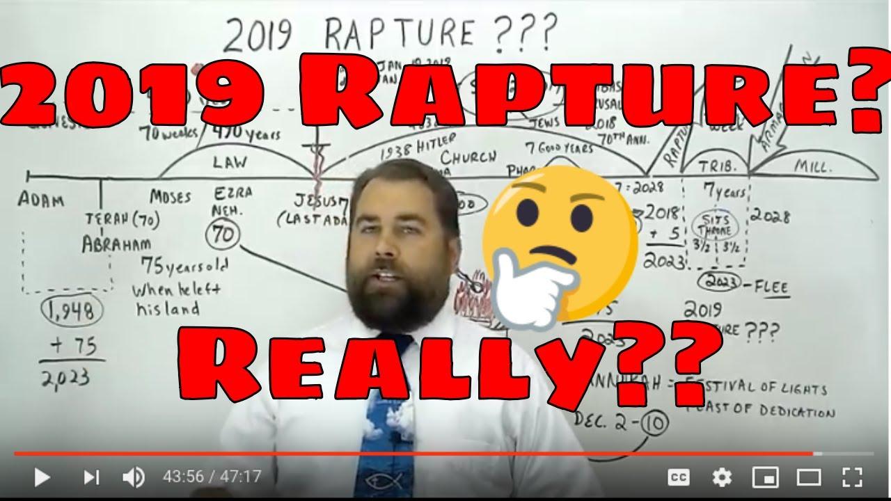 ROBERT BREAKER: Rapture 2019 and the Third Temple Rebuilt in 2019