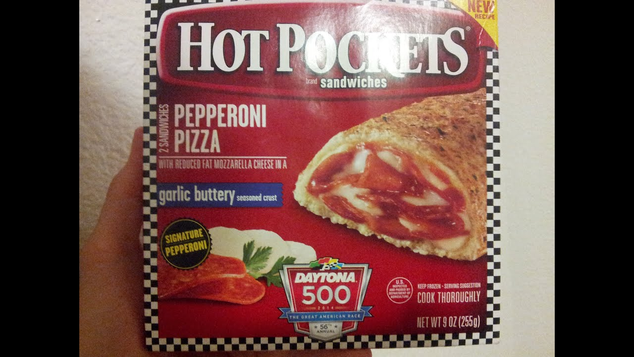 New Recipe Hot Pocket Review
