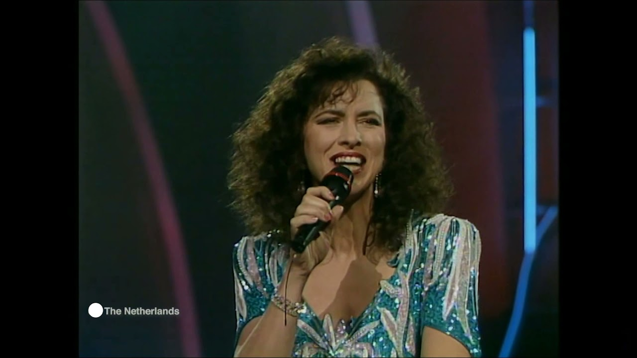 Ik wil alles met je delen  Maywood  HQ Netherlands 1990  Eurovision songs with live orchestra