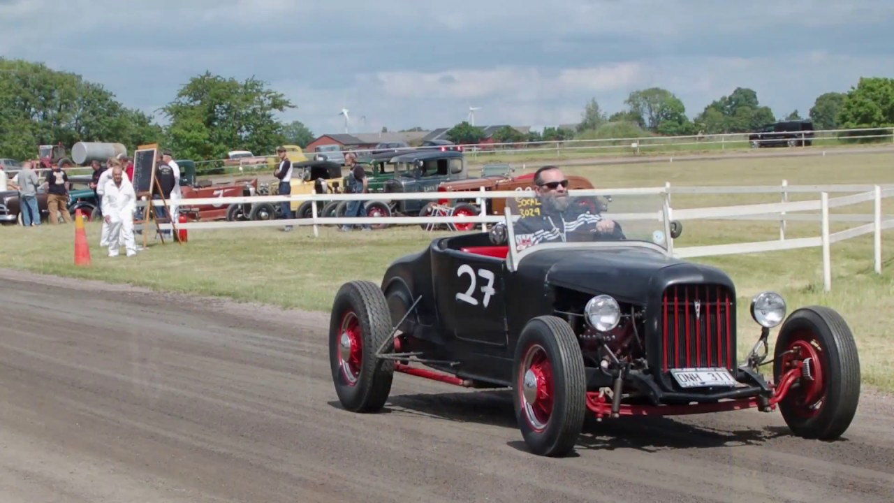 The Sweet Sounds of a Flathead  Flathead Speed Day 2017