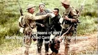 Canteens of the Allies World War One:  Part 1 - WW1 Canteens WW1.  14-18 Première guerre mondiale