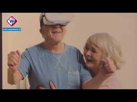 Haagse ouderen maken kennis met virtual reality